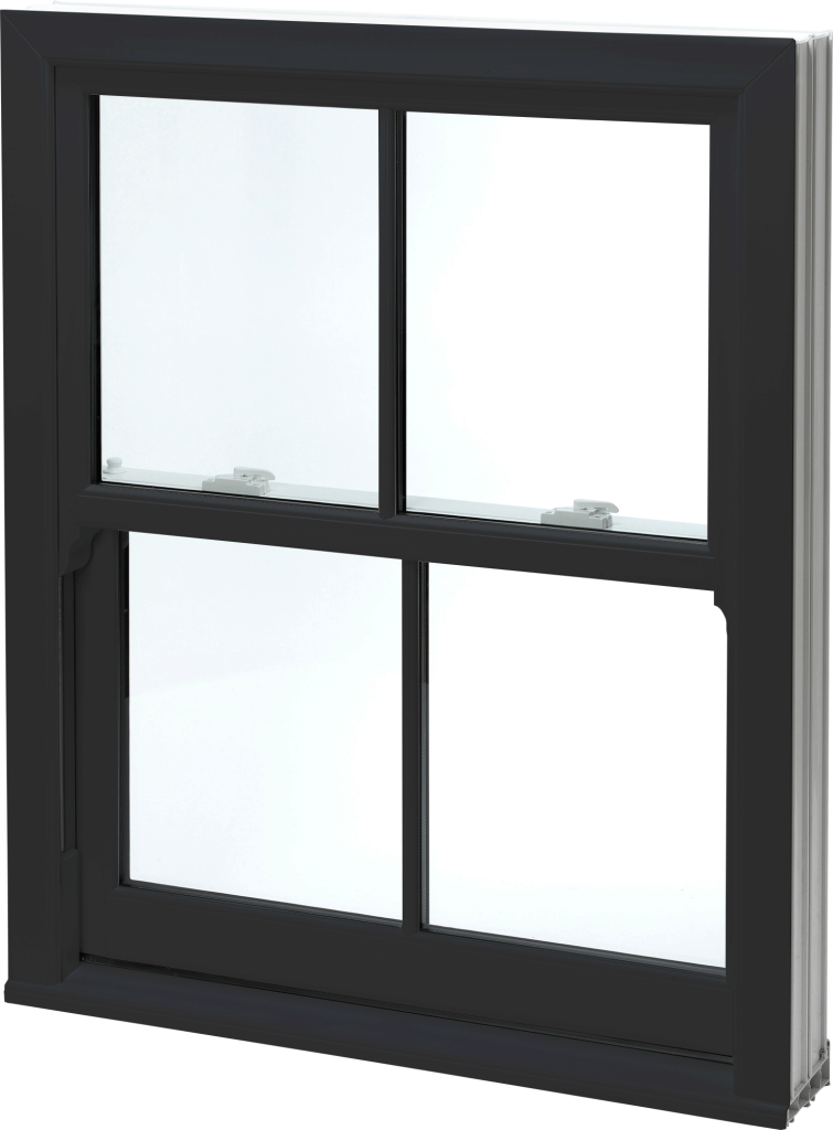 Black Sash Windows uPVC