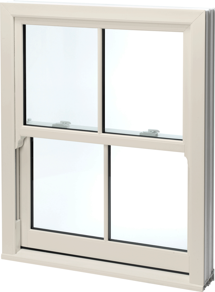 Cream Sliding Sash Window Norwich