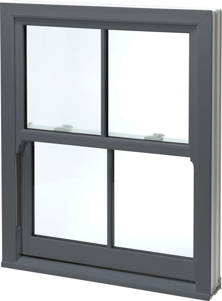 Grey uPVC Sash Windows Norwich