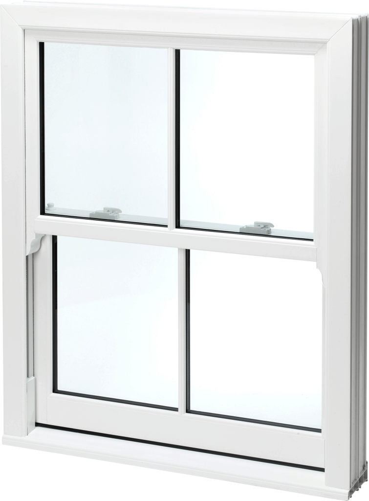 Sliding Sash Windows White Norfolk