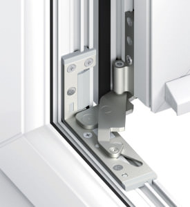 Integrated Hinges on uPVC Windows