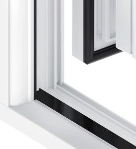 uPVC French Doors Milled Threshold