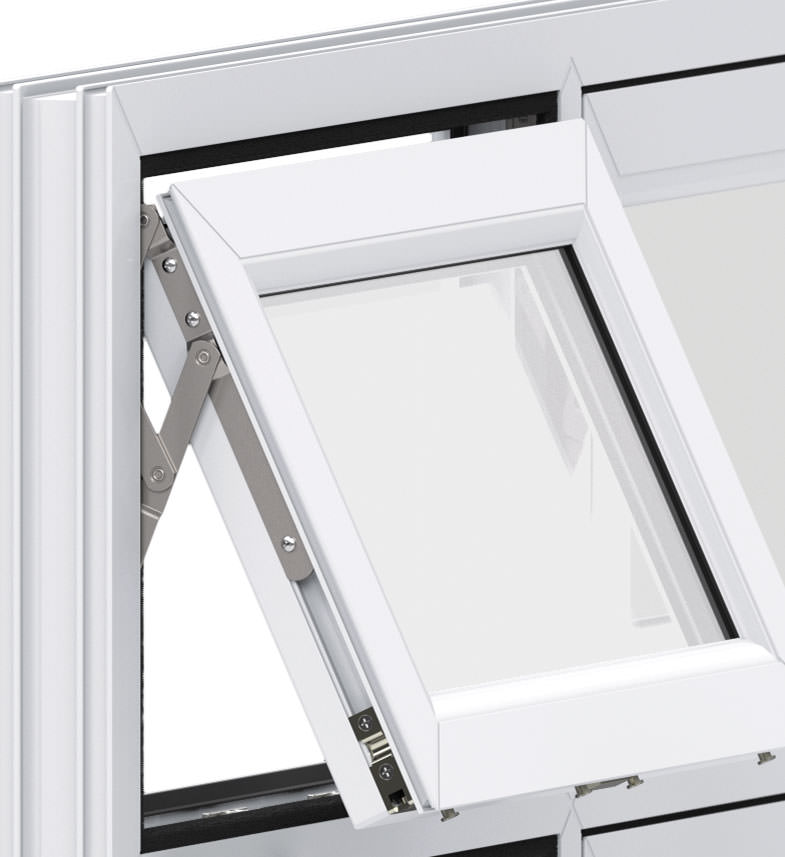 Versatile Design-Dual Opening Window
