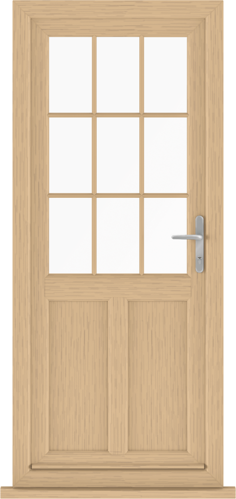 Irish Oak uPVC doors