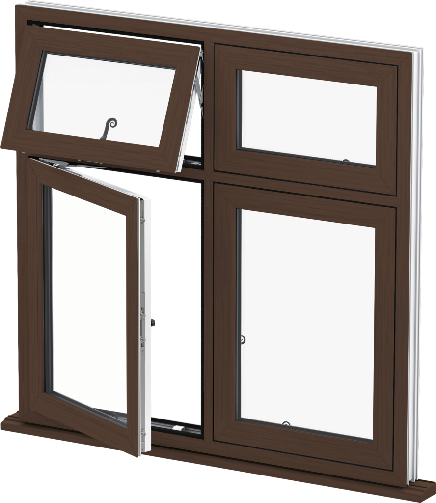 Mahogany Casement Window Norwich