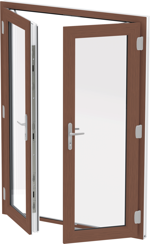 Rosewood External French Door, Norfolk